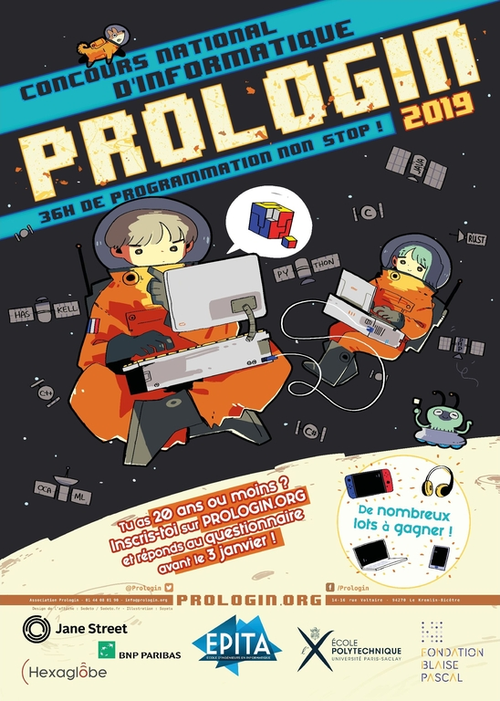 Affiche Prologin 2019